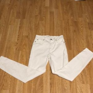 White 7 for all mankind jeans size 27
